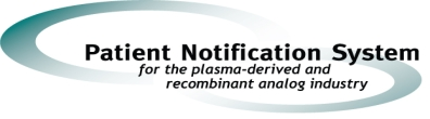Patient Notification Logo